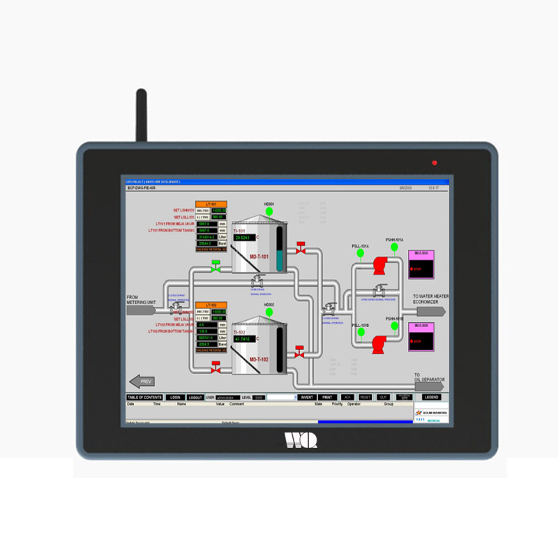 10.4 Inch WinCE Touchscreen Industrial Panel pcs